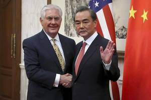 Tillerson to face Chinese ire over blame for North Korea tensions
