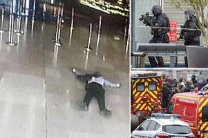 Paris Orly airport gunman vowed to die for Allah before he was shot dead by soldiers