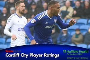kenneth zohore is king and cardiff city are utterly magnificent — player ratings from a vintage bluebirds display