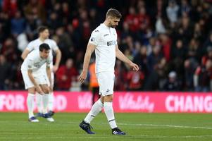 The Swansea City player ratings as Federico Fernandez and Fernando Llorente go missing in toothless display against Bournemouth