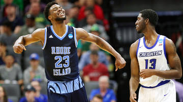 no. 11 rhode island upsets no. 6 creighton and then gets its own surprise—lamar odom