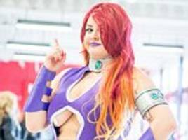 Females show racy outfits at Birmingham's Comic Con