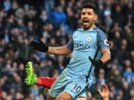 Manchester City 1-1 Liverpool: Aguero seals point for City