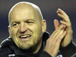 Scotland's new coach Townsend will continue Cotter's work