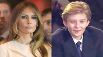report: melania and barron trump will 'absolutely' move into white house by june