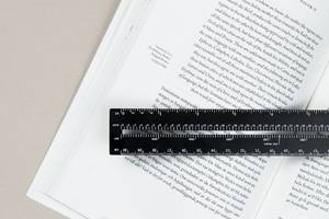 This gorgeous ruler was created specifically for digital designers