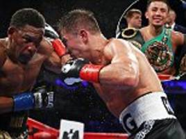 gennady golovkin beats daniel jacobs to retain title belts