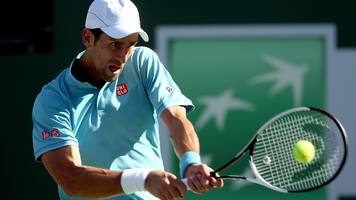 miami open: novak djokovic joins andy murray in pulling out with elbow injury