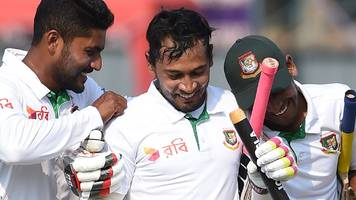 sri lanka v bangladesh: tigers win their 100th test