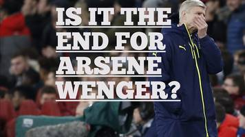 wenger's arsenal future: time to go?