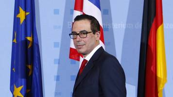 us treasury secretary moves g20 away from avoiding protectionism