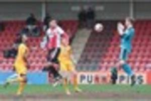 Five talking points from Cheltenham Town's home defeat by...