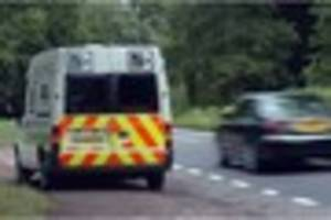 Avon and Somerset police's mobile speed camera locations in Bath,...