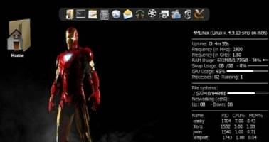 4MLinux 22.0 Launches July 2017 Based on GCC 6.2.0 and the Linux 4.9 LTS Kernel