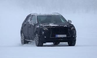 2019 cadillac xt4 spied in the blizzard, compact crossover also coming to europe