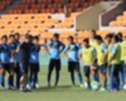 indian national football team - blue tigers to pit their wits against lebanon and palestine later this year