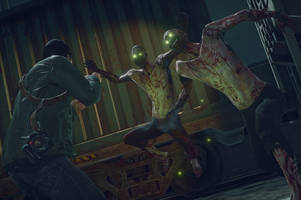 Frank West is infected and must eat survivors in 'Dead Rising 4: Frank Rising'