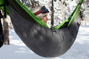 Who said hammocks were for summer? The insulated Inferno thinks differently