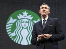 starbucks' howard schultz to step down as ceo in april