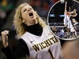 wichita state coach's furious wife is ejected after game