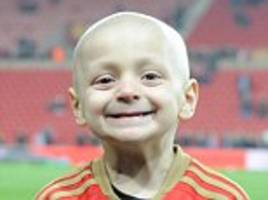 Thief stole charity box meant for dying Bradley Lowery, 5