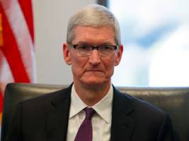 Apple CEO Tim Cook defended globalisation with an implicit attack on the Trump agenda (AAPL)