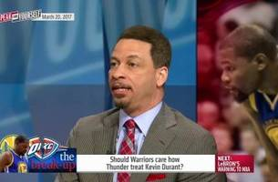 Should Warriors care how Thunder treat Kevin Durant? | SPEAK FOR YOURSELF