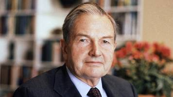 us billionaire philanthropist david rockefeller dies at 101
