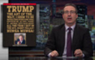 Video: John Oliver Translates Trump's 'Toddler Psychopath' Language