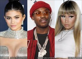 Kylie Jenner Likes Meek Mill, but She's Worried About His Ex Nicki Minaj