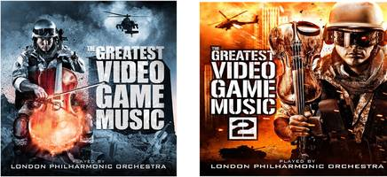 These orchestral video game album covers may be the greatest achievement in visual arts