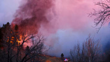colorado wildfire may be human-caused