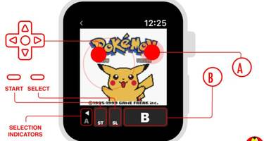Get your retro Pokémon fix with this Gameboy emulator for Apple Watch