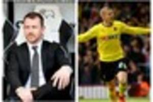 this striker made derby county boss gary rowett think 'wow, what...