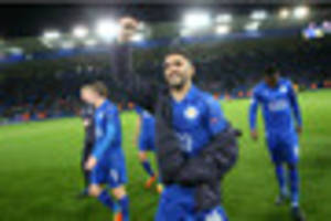 Riyad Mahrez admits it is 'impossible' for Leicester City to win...