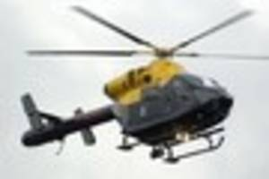 Police helicopter joins search following concern for man in...