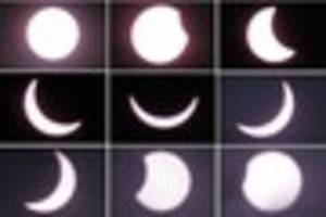 Two years ago today solar eclipse darkened our skies - video