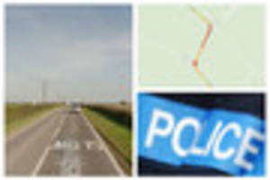 Severe accident closes road in Lincolnshire
