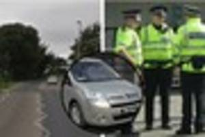 Woman's car hit police officer on Staplegrove Road, Taunton, and...