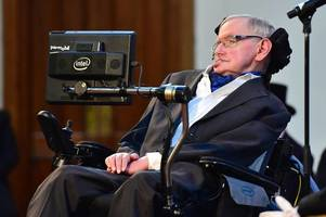 stephen hawking announces he will go into space- but 'may not feel welcome' in donald trump's america
