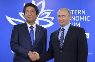Abe to visit Russia next month for Putin summit