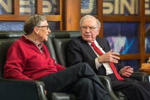 Jeff Bezos and Warren Buffett are Plenty Rich, but Bill Gates Richer