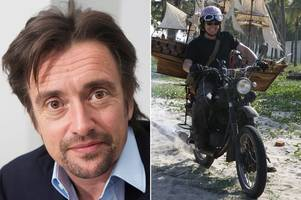 richard hammond injured in motorbike crash in mozambique 11 years after almost dying in 288mph top gear collision
