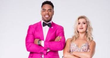 """rashad jennings and emma slater on """"dancing with the stars"""" 2017: 3 facts to know"""
