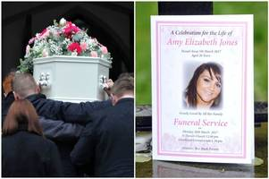 hundreds attend funeral of 'beautiful' young mum who wanted to complete bucket list