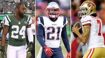 can revis play safety? should pats have prioritized butler over gilmore? why is kaepernick unsigned?