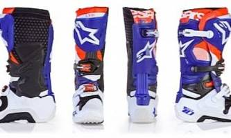 Alpinestars Puts Out Limited Edition Indianapolis Tech 10 Boots