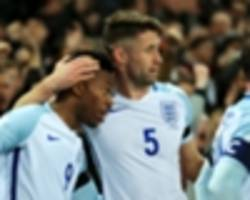 chelsea defender cahill to captain england against germany, but sterling a doubt