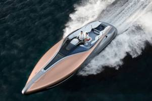 Lexus' Sports Yacht may be just a concept or it could be a market test
