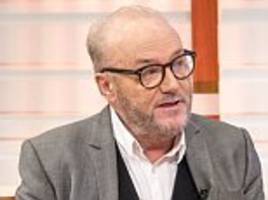 george galloway launches a bid for manchester gorton